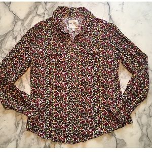 Joe's Jeans 'The Shirt' Floral Buttondown